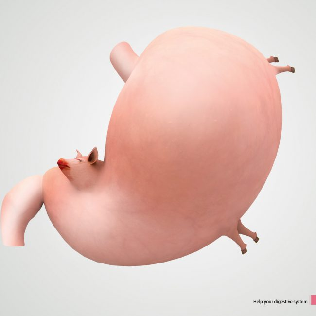 Digestion Ad for Yakult